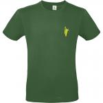 T-Shirt dunkelgrün Vorderseite