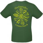 T-Shirt dunkelgrün Rückseite