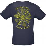 T-Shirt dunkelblau Rückseite